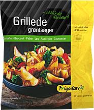 GRILLEDE GRØNTSAGER 600g